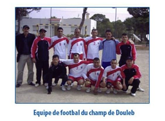Tournoi de football à Douleb